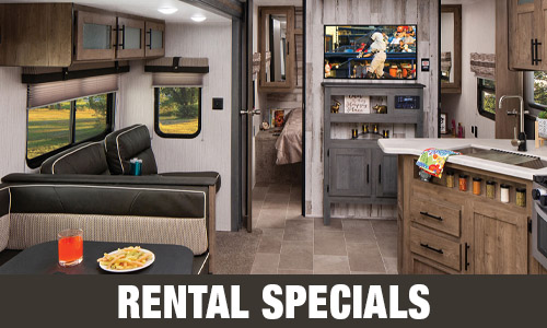 RV Vacation Rental Specials